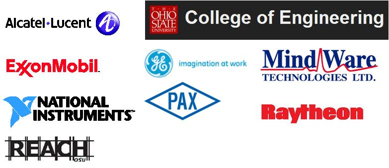 Alcatel-Lucent, the College of Engineering, ExxonMobil, GE, Mind Ware, National Instruments, PAX, Raytheon, and REACH